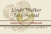 Lida Walker Testimonial for CoachCarruthers